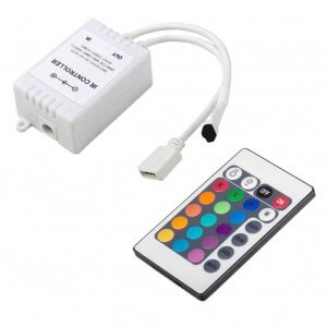 24-key Infrared Controller – CE ROHS 3years