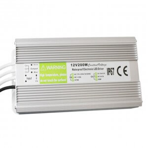 200W IP67 Power Supply – CE RoHS 3years