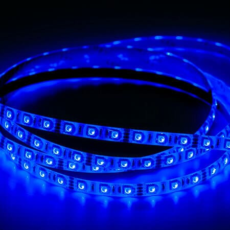 led lights blue color