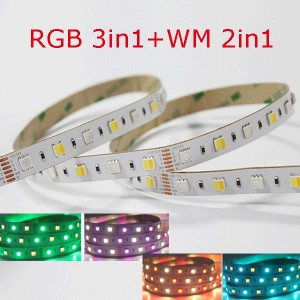 RGB+CCT 5 Colors Strip – CE ROHS 3years
