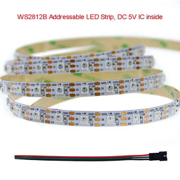 WS2812B Addressable Strip – CE RoHS 3years - MSSLED
